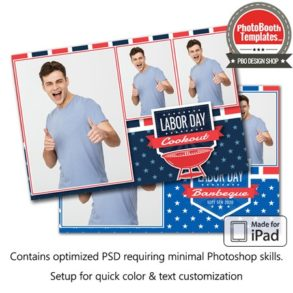 American Event Postcard (iPad)
