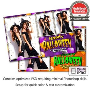 Halloween Party Postcard (iPad)