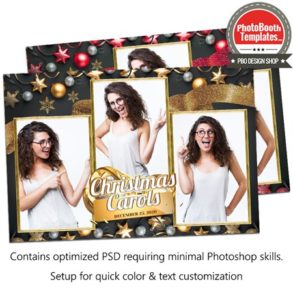 Mesmerizing Christmas Carols Postcard