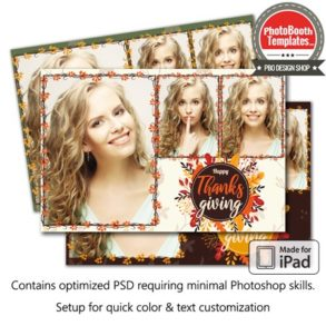 Autumn Foliage Postcard (iPad)