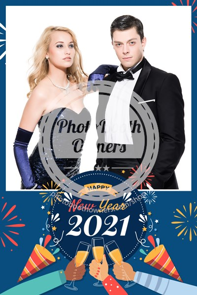 Fabulous New Year Portrait (iPad)