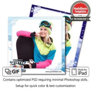 Winter Sport Event Square (iPad)
