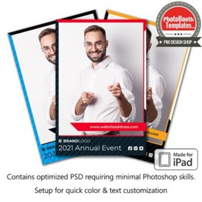 Corporate Sponsored Event Portrait (iPad)