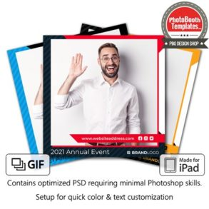 Corporate Sponsored Event Square (iPad)