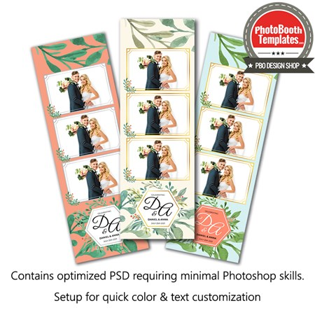 Rustic Summer Chic 3-up Strips 1