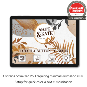 glitter floral watercolor welcome screen surface pro